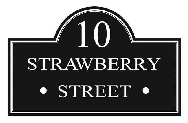 Ten Strawberry Street Logo