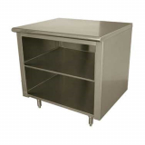 Cabinet Base Open Front Work Table