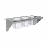 Condiment Shelf for Cooking Equipment