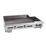 Countertop Gas Griddle & Hotplate