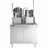 Direct-Steam Kettle Cabinet Assembly