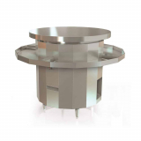 Gas Round Griddle & Fry Top