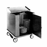 Heated Dish Storage Cart