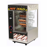 Hot Dog Broiler & Rotisserie