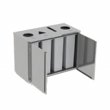 Metal Recycling Receptacle & Container