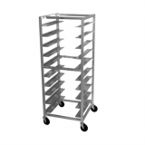 Mobile Oval Tray Storage Rack