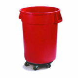 Mobile Trash Receptacle