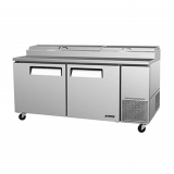Pizza Prep Table Refrigerated Counter
