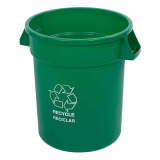Plastic Recycling Receptacle & Container