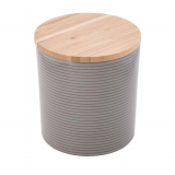 Plastic Storage Jar & Ingredient Canister