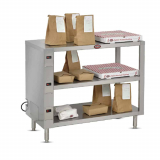 Radiant Heated Holding Shelves
