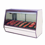Red Meat Deli Display Case