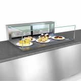 Slide In Counter Non-Refrigerated Display Case