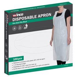 Winco Disposable Apron