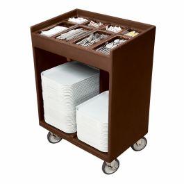 Cambro Flatware & Tray Cart