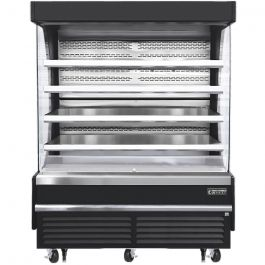 Everest EOMV-72-B-35-T - Vertical Open Display Merchandiser, 73-1/4