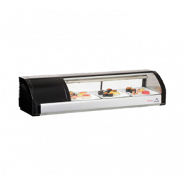 Everest Refrigeration Refrigerated Sushi Display Case