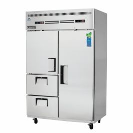 Everest Refrigeration Reach-In Refrigerator Freezer
