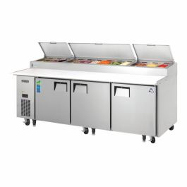 Everest Refrigeration Pizza Prep Table Refrigerated Counter