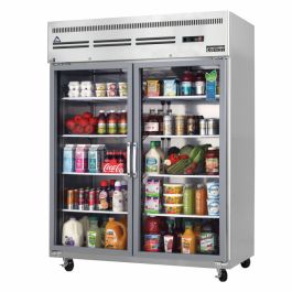 Everest ESGWR2 - Reach-In Refrigerator, Two-section, 59