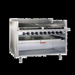 Magikitch'n Floor Model Gas Charbroiler