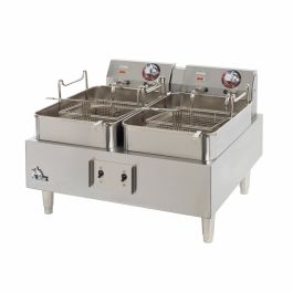 Star Split Pot Countertop Electric Fryer