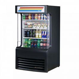 True Refrigeration Open Refrigerated Display Merchandiser