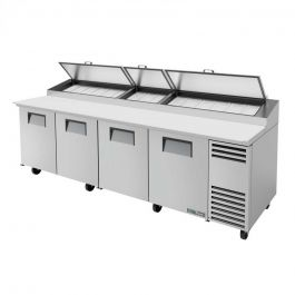 True Refrigeration Pizza Prep Table Refrigerated Counter