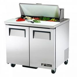 True Refrigeration Sandwich & Salad Unit Refrigerated Counter