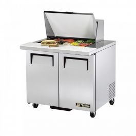 True Refrigeration Mega Top Sandwich & Salad Unit Refrigerated Counter