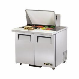 True Mfg. - General Foodservice TSSU-36-12M-B-ADA-HC - Mega Top Sandwich/Salad Unit
