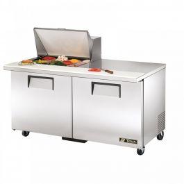 True Mfg. - General Foodservice TSSU-60-12M-B-HC - Mega Top Sandwich/Salad Unit, (12) 1/6 Size (4