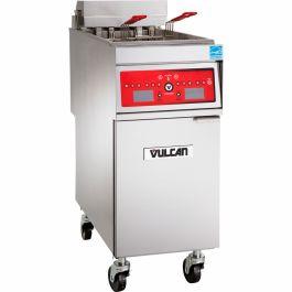 Vulcan Full Pot Floor Model Electric Fryer