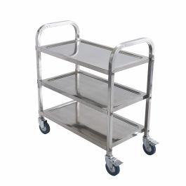 Winco Dish & Bussing Cart
