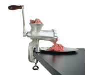 Adcraft 10HC - Meat Grinder, Manual, Clamp Style