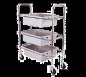 Adcraft DCRT - Dish Cart, 3-tier, 28