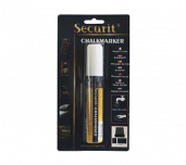 American Metalcraft BLSMA720WT - Securit® Chalk Markers, Rain & Smear Proof, Use On All Non-porous Surfaces