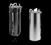 APW Wyott HL-12A - Adjustube® II Heated Dish Dispenser, Tubular Drop-in Style, Single Self-elevating Dish Platform