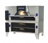 Bakers Pride FC-616/Y-600BL - Il Forno Classico® Pizza Oven, Double Stacked With Y-600