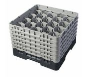Cambro 20S1114110 - Camrack® Glass Rack, With (6) Soft Gray Extenders, Full Size