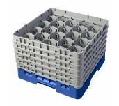 Cambro 20S1114168 - Camrack® Glass Rack, With (6) Soft Gray Extenders, Full Size