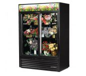 True Mfg. - General Foodservice GDM-47FC-HC-LD - Floral Merchandiser, Two-section