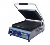Globe GPG14D - Sandwich/Panini Grill, Single, Countertop