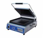 Globe GSG14D - Sandwich/Panini Grill, Single, Countertop