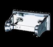 San Jamar R200XC - Single Roll Bath Tissue Dispenser, 6