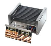 Star 30SCBD - Grill-Max® Hot Dog Grill, Roller-type With Integrated Bun Drawer, Stadium Seating