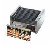 Star 30SCBDE - Grill-Max® Hot Dog Grill, Roller-type With Integrated Bun Drawer