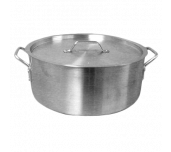Thunder Group ALSKBP001 - Brazier Pot, 8 Quart Capacity, With Cover