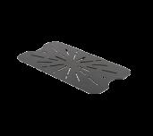 Thunder Group PLPA7000DSBK - Drain Shelf, Full Size, Scratch Resistant