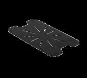 Thunder Group PLPA7120DSBK - Drain Shelf, 1/2 Size, Scratch Resistant